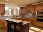 Luxury Kitchen two tier island